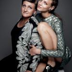 2 фотопроекта о моделях и их мамах